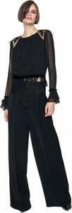 Czarna bluzka ANETA KRĘGLICKA X L'AF