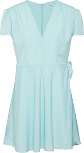 Miętowa sukienka Glamorous mini