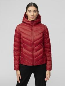 Czerwona kurtka 4F w stylu casual krótka