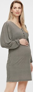 """Mama Licious Sukienka ciążowa """"Ava"""" w kolorze czarno-kremowym"""