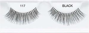 Ardell Lashes Czarne Sztuczne Rzęsy Na Pasku Glamour 117 Black Fashion 1 para