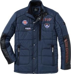 Niebieska kurtka bonprix bpc selection w młodzieżowym stylu