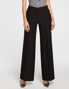 Czarne spodnie MOE w stylu retro