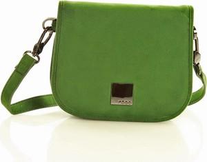 Zielona torebka NOBO na ramię w stylu casual średnia