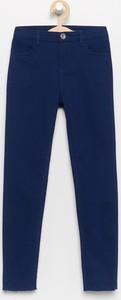 Granatowe spodnie dziecięce Reserved