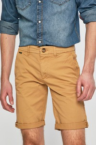 Żółte spodenki Guess Jeans