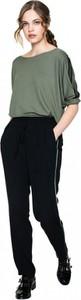 Czarne spodnie L'AF z tkaniny