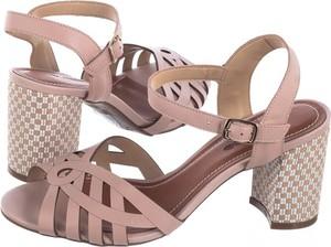 Sandały Bottero na obcasie w stylu casual