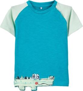 Turkusowa koszulka dziecięca Name it