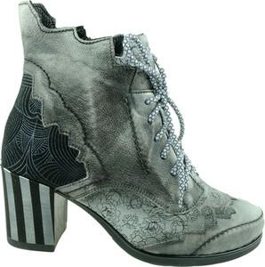 Buty Maciejka sznurowane z nadrukiem