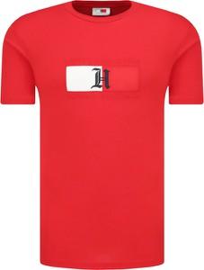 T-shirt Tommy Hilfiger z krótkim rękawem z nadrukiem