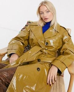 Zielony płaszcz Asos Design