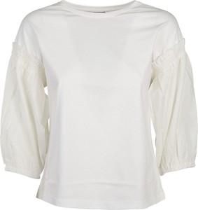 T-shirt Pinko w stylu casual z okrągłym dekoltem
