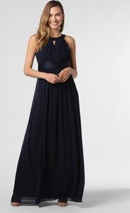 Niebieska sukienka Marie Lund maxi