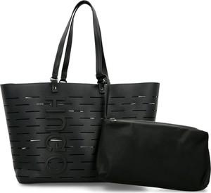 Czarna torebka Hugo Boss duża