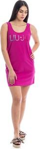 Różowa sukienka Liu-Jo mini bez rękawów