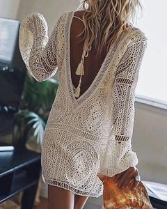 Sukienka Kendallme prosta w stylu boho
