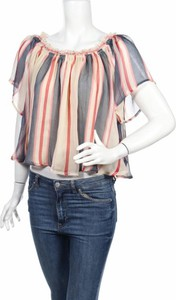 Bluzka Pepe Jeans w stylu casual z okrągłym dekoltem