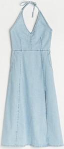 Sukienka Reserved na ramiączkach w stylu casual z dekoltem w kształcie litery v