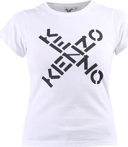 T-shirt Kenzo z okrągłym dekoltem z krótkim rękawem