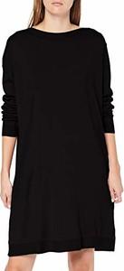 Sukienka amazon.de w stylu casual z długim rękawem z okrągłym dekoltem