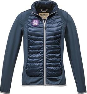 Granatowa kurtka Dolomite krótka w stylu casual