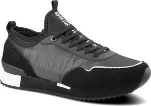 Czarne buty sportowe Big Star