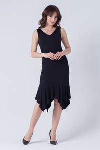 Czarna sukienka butik-choice.pl na ramiączkach