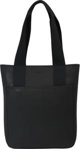 4400332e3c83f Czarna torebka Esprit ze skóry duża w wakacyjnym stylu