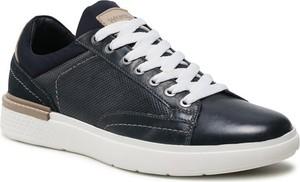 Wrangler Sneakersy Discovery Derby WM11165A Granatowy