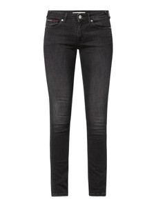 Czarne jeansy Tommy Jeans z bawełny