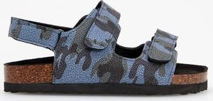 Niebieskie buty dziecięce letnie Reserved na rzepy