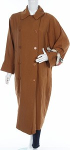 Brązowy płaszcz Mango w stylu casual