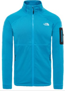 Niebieska bluza The North Face z plaru