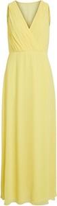 Żółta sukienka Vila