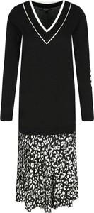 Czarna sukienka Mytwin Twinset