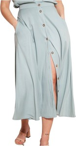 Niebieska spódnica Lanti midi