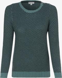 Zielony sweter Marie Lund w stylu casual