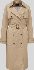 Brązowy płaszcz YESSICA