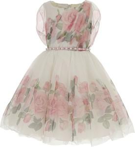 Sukienka dziewczęca Monnalisa z bawełny