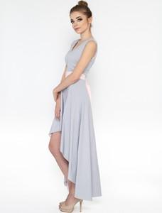 Sukienka 4myself bez rękawów maxi asymetryczna