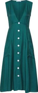 Zielona sukienka Glamorous bez rękawów