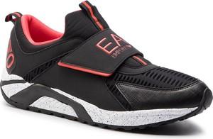 Buty sportowe EA7 Emporio Armani ze skóry ekologicznej