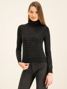 Czarny sweter Liu-Jo w stylu casual