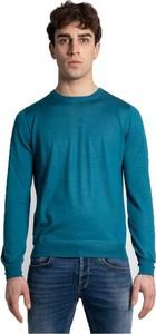 Sweter Gran Sasso z okrągłym dekoltem z wełny