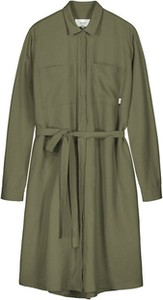 Zielona sukienka Makia mini koszulowa