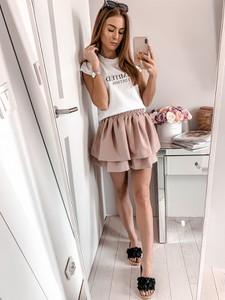 927f13b941 mini spódniczka z falbankami - stylowo i modnie z Allani