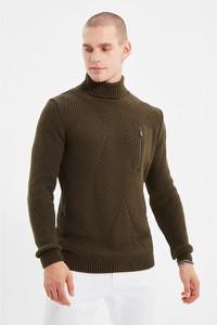 Sweter Trendyol w stylu casual z golfem