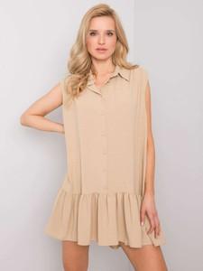 Sukienka Promese mini z bawełny w stylu casual