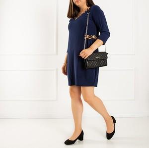 Sukienka Royalfashion.pl z długim rękawem w stylu casual mini
